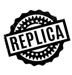 Replica rubber stamp vector
