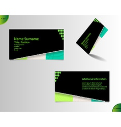 New business card layout vector