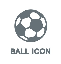 Ball computer icon vector