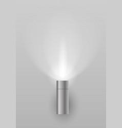 light sconces for facade vector image