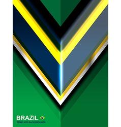 Geometric brazil color backgrounds vector