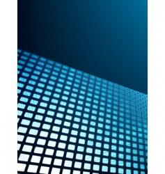 Blue waveform vector background vector