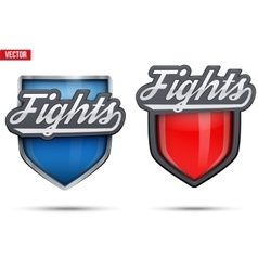 Premium symbols of Fights Tag vector image vector image