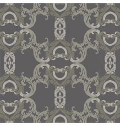 Vintage Luxury ornament pattern vector image