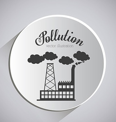 Pollution design vector