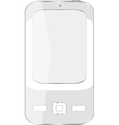 cell smart mobile smart phone iphone vector image