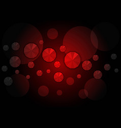 dark red low poly template an elegant bright vector image