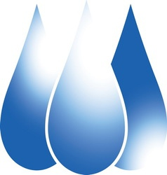 Blue drop 02 resize vector