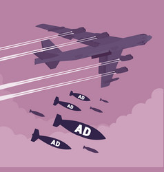 Bomber and ad bombing vector