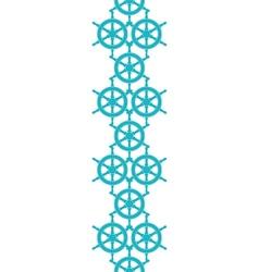 Nautical ship wheels abstract blue vertical vector