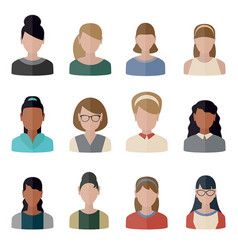 People icons set people icons set vector