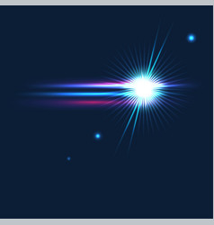 Shining cosmos vector