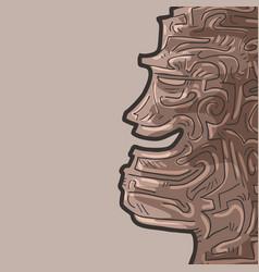 Talisman face vector
