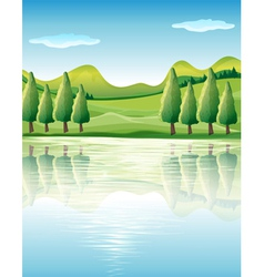 The beauty of nature vector image vector image