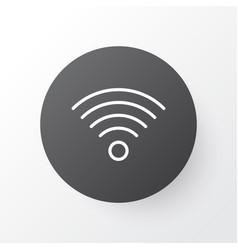 Wi-fi icon symbol premium quality isolated vector