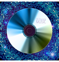 Disco abstract background record or disk vector