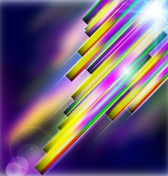 Abstract shiny technology straight lines vector image