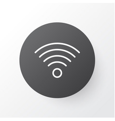 Wi-fi icon symbol premium quality isolated vector