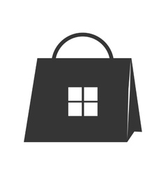Shop bag store icon graphic vector