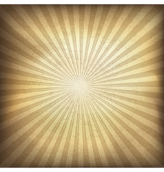 Vintage background with rays vector