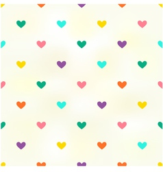 Seamless heart background texture vector