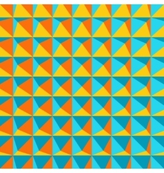 Abstract 3d geometric pattern Polygonal vector image