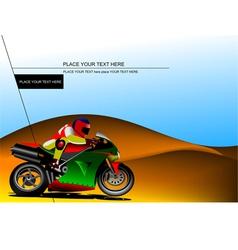 al 0833 moto 03 vector image vector image