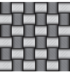 Glossy metalic mosaic pattern vector image vector image