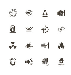 Influence - flat icons vector