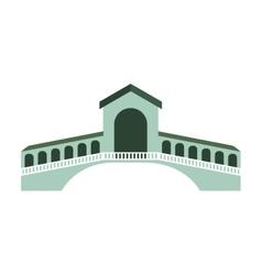 london bridge isolated icon vector image