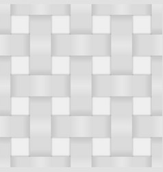 White wicker background vector
