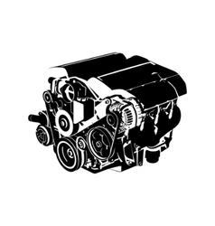 engine vector image