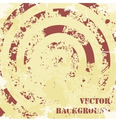 Abstract spiral grunge pattern background vector
