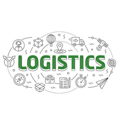 linear logistic vector image vector image