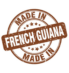 Made in french guiana vector