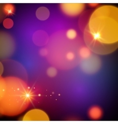 Magic background design magic lights vector image vector image