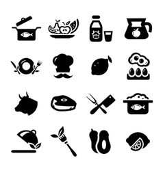 new food icons vector image