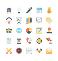 Office and stationery icons 3 vector