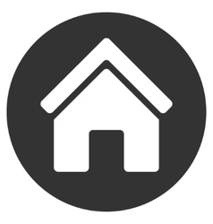 Real estate flat icon vector