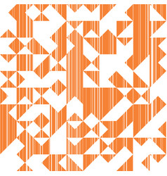 Triangles retro abstract background vector