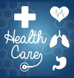 Health care treatment medicine vector