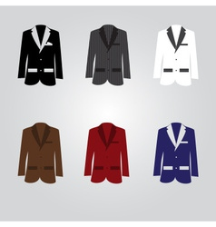 Variation of suits eps10 vector
