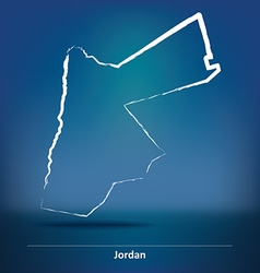 Doodle map of jordan vector