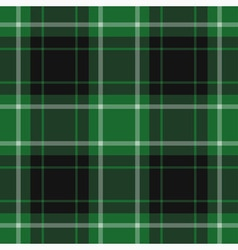 Seamless tartan - green vector