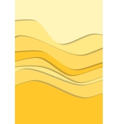Sand curve wave line background vector