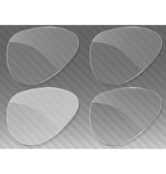 abstract glass background vector image vector image