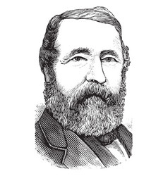 Henry chadwick vintage vector