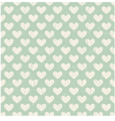 Seamless heart distressed texture background vector