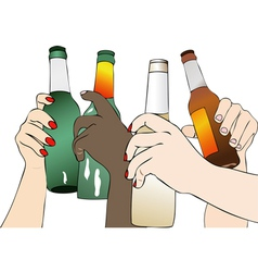 The Beer in Fest vector image
