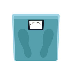 weight scale icon vector image vector image